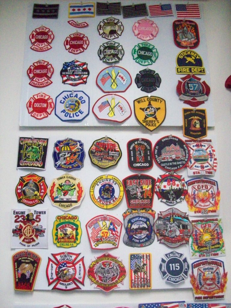 Fire patches collection i | the current collection of depart… | flickr.